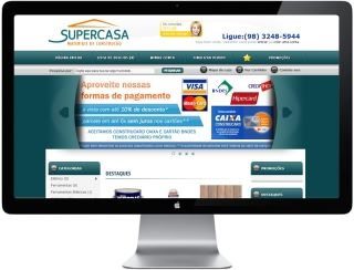 Loja Virtual Supercasa