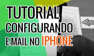 Configurando e-mail no iOS (iPhone ou iPad)