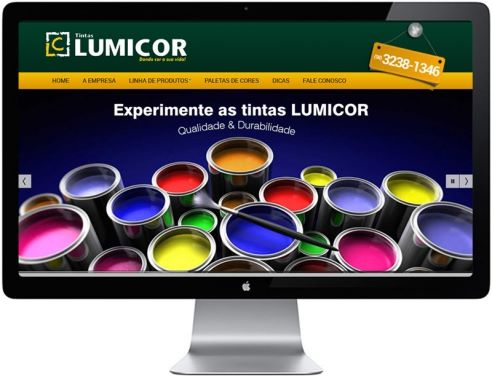 Site Tintas Lumicor