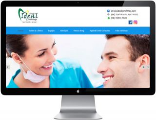 Site Clínica Ideal - Odontologia