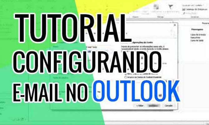 Configurando e-mail no Microsoft Outlook
