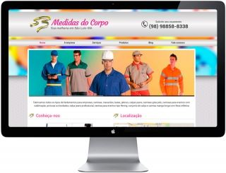 Site Malharia Medidas do Corpo