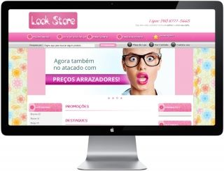 Loja virtual Look Store